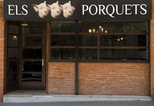 Restaurante Els Tres Porquets en Poble Nous, Barcelona