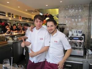 Bairo & Patrick / Barrafina Foto: Raúl Casañas