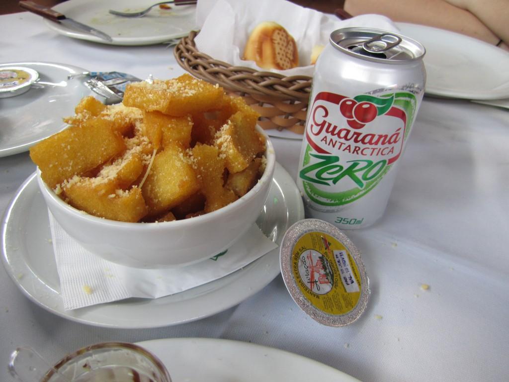 Polenta. Jacaré Grill. Foto: Raúl Casañas